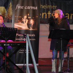 Duett mit Carina Henkel und Marcus Reichel